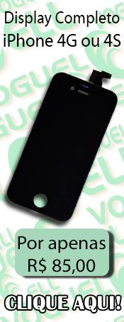 Compre agora! Display completo para iPhone 4G/4S!