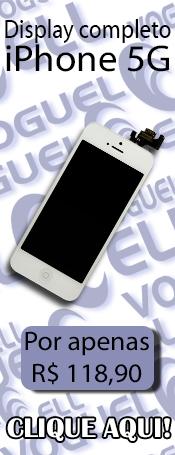 Compre agora! Display completo para iPhone 5G!