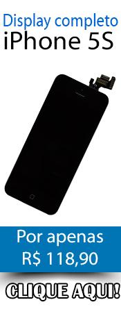 Compre agora! Display completo para iPhone 5S!