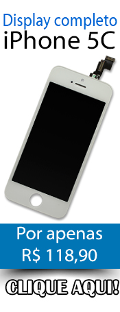 Compre agora! Display completo para iPhone 5C!