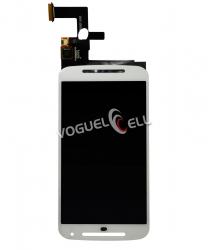 Display Completo Motorola Moto G2 Xt1068/xt1069 Branco (sem Aro)