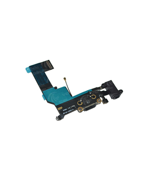 CABO FLEXÍVEL IPHONE 5SE CONECTOR DE CARGA PRETO